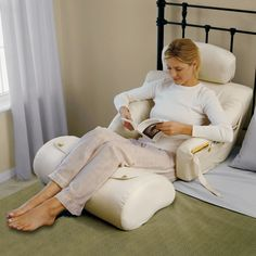 The Superior Comfort Bed Lounger - Hammacher Schlemmer