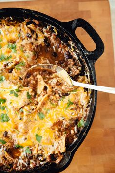 Recipe: Mexican Skillet Lasagna — Weeknight Dinners from the Pantry | The Kitchn
