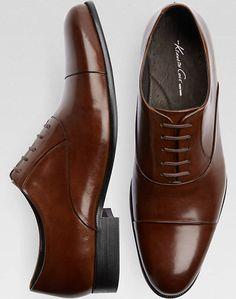 Kenneth Cole Command Chief Cognac Dress Shoe - Mens Dress Shoes, Shoes - Men's Wearhouse
