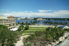 Getting another perspective on the beautiful waterfront #ilovewpb   ☀
