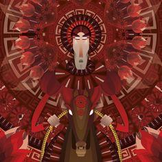 el jinete rojo