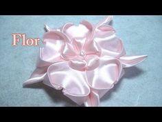 # DIY - Flor rosa de 5 pétalos # DIY - Pink flower of 5 petals - YouTube