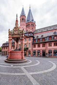 Marktbrunnen - Mainz, Rheinland-Pfalz