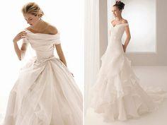 Com o retorno ao clássico, o vestido de noiva com decote ombro a ombro virou tendência. Veja abaixo nossa seleção com 10 modelos nos mais variados estilos.