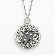 """Insignia collection nascar kyle busch sterling silver """"18"""" pendant on shopstyle.com"""