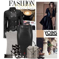 Leather Fashion Yoins Style