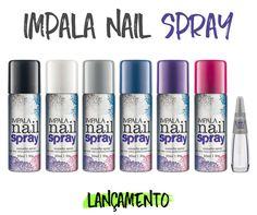 impala nail spray esmalte em spray da impala