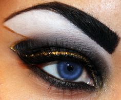 'Storm' from X-Men look by Makeup by Siryn.