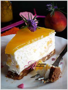 Cheesecake sa breskvama | Minjina Kuhinjica