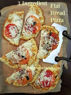 3 Ingredient Paleo Friendly FlatBread