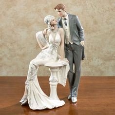 Love That Lasts 1920s Bride and Groom Figurine