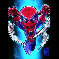 "Lord Mesa Art — ""Iron Spider"" @tomholland2013 @spidermanmovie I'm..."