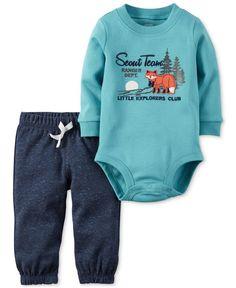 Carter's 2-Pc. Scout Team Bodysuit & Pants Set, Baby Boys (0-24 months)