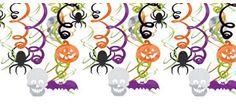 Halloween Hanging Swirl Decorations 30ct