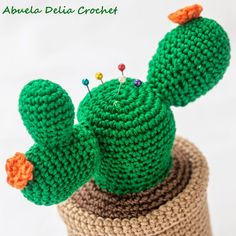 Alfiletero Cactus | Cactus Pincushion
