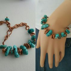 lgbstyles.etsy.com - Turquoise and Copper Jewelry
