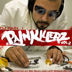 I am track #5 on the illustrious DJ PAIN 1's Painkillerz Vol. 2. Check me out!! :)