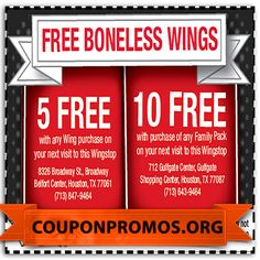 photo relating to Wingstop Coupons Printable titled 3298 Most straightforward December Discount codes pics inside of 2014 Coupon codes, Grocery