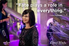 """Need some inspiration? Get insightful quotes from Cassie Nightingale, from the Hallmark Channel original series, """"Good Witch. Hallmark Good Witch, The Good Witch Series, James Denton, Witch Quotes, Funny Sports Pictures, Insightful Quotes, Inspirational Quotes, Grumpy Cat Humor, Grumpy Cats"""