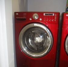 Cleaning front load washer.