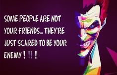 Yes-and it makes me pity those who show that they'd rather stick with someone their afraid of offending rather than stand by their beliefs Joker Qoutes, Best Joker Quotes, Batman Quotes, Badass Quotes, Dark Quotes, Wisdom Quotes, Me Quotes, Quotes To Live By, Amazing Quotes