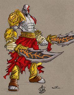 God of War Sketch