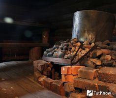 Печь из кирпича в бане по-черному Infrarot Sauna, Steam Sauna, Sauna Room, Portable Sauna, Finnish Sauna, Wooden Architecture, Western Red Cedar, Garden Furniture, Decoration