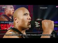 WWE Raw 2/5/11-The Rock Segment About Osama Sucks's Death HQ