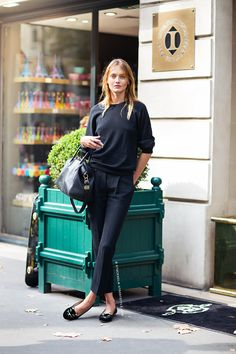 Great trousers. Black on black