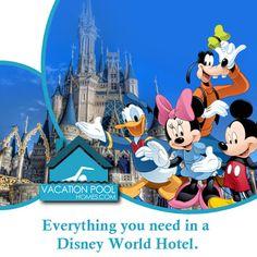 Vacation Pool Homes: Choosing The Perfect Disney World Hotel Hotels Near Disney, Disney World Hotels, Homes, Vacation, How To Plan, Houses, Vacations, Home, Holidays
