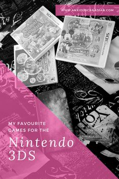 My Favourite Games for the Nintendo 3DS
