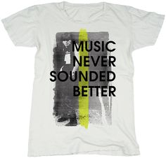 PM x JT Music Never Sounded Better 100 Percent by PunkMasters, $30.00