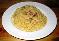Authentic Spaghetti Carbonara Recipe #2 - very similar to recipe #1 but I might like the directions better