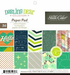 Darling Dear-6x6 Paper Pad Studio Calico,http://www.amazon.com/dp/B00AHILSD8/ref=cm_sw_r_pi_dp_bdL9sb1YF2CYSEP5
