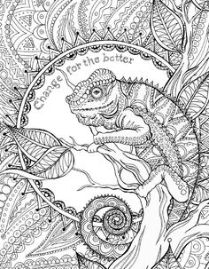 Valspar 2016 Colors of the Year Color Book by Valspar Paint - issuu Blank Coloring Pages, Coloring Pages For Grown Ups, Adult Coloring Book Pages, Printable Adult Coloring Pages, Mandala Coloring Pages, Animal Coloring Pages, Coloring Books, Coloring Sheets, Doodle Coloring