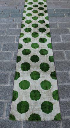 2.48 Yard Velvet Fabric Velvet Ikat Fabric Handmade Velvet Ikat Uzbek Ikat Silk Fabric Fast Shipment K.258-A_001