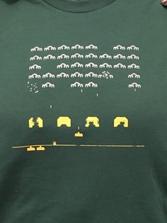 Boys Space Invaders T-Shirt