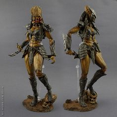My work here is largely influenced by a lot of the predator sculptors and illustrators. AVP Part She-Wolf Predator vs Queen Alien ,Toysdaily 玩具日報 Wolf Predator, Predator Alien, Science Fiction, Predator Cosplay, Imagine Nation, Aliens Colonial Marines, Alien Isolation, Alien Design, Tech Art