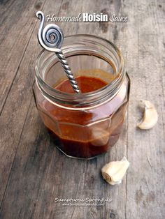 Hoisin sauce is a thick, pungent sauce commonly used in Chinese cuisine as a glaze for meat, an addition to stir fries, or as dipping sauce. It is darkly coloured in appearance and both sweet and s...