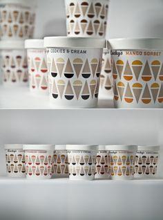 Lucky's Ice Cream — The Dieline   Packaging & Branding Design & Innovation News