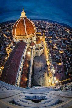 Firenze vista dal Campanile di Giotto.
