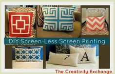screen printing templates - Google Search