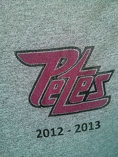 Peterborough Petes player worn  Reebok Speedwick shirt OHL CHL