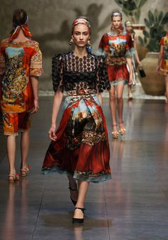 Dolce and Gabbana - Summer 2013
