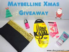 Diva Journals: Maybelline Xmas Giveaway