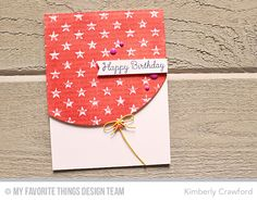Happy Birthday Background, Star Background, You're the Sweetest, Blueprints 16 Die-namics, Blueprints 26 Die-namics - Kimberly Crawford #mftstamps