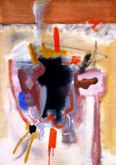 "Mark Rothko ""Untitled"" 1946. Oil on canvas. National Gallery of Art, Washington, Gift of The Mark Rothko Foundation, Inc"