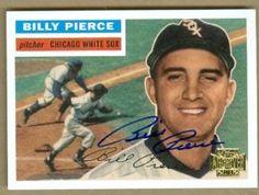 """27 de JUNIO de 1958.- El lanzador William Raymond """"Billy"""" Pierce, pítcher zurdo de los Medias Blancas de Chicago, permitió el viernes un doblete del bateador emergente Edward """"Ed"""" Fitz Gerald en l…"""