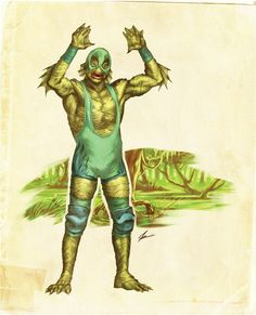 Shit Movie Fest: El Lucha Monstruo (When The Universal Monsters became Mexican Wrestlers!)