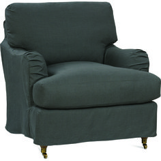 Brooke Chair with Slipcover   Robin Bruce Furniture   Home Gallery Stores